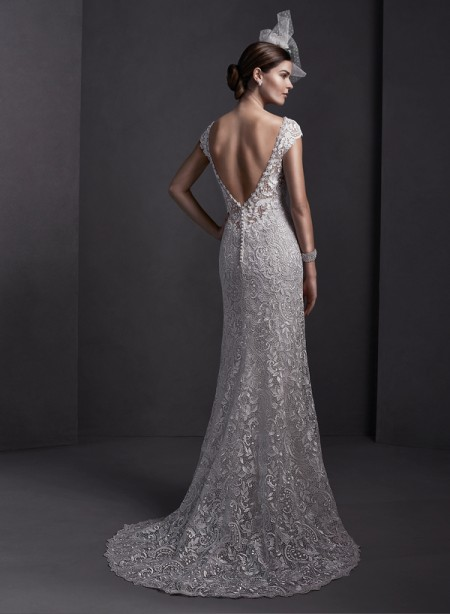 Back of Georgia Wedding Dress - Sottero and Midgley Spring 2015 Bridal Collection