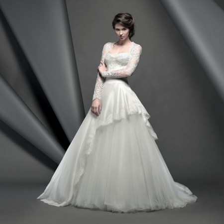Grosvenor Wedding Dress - Suzanne Neville Novello 2015 Bridal Collection