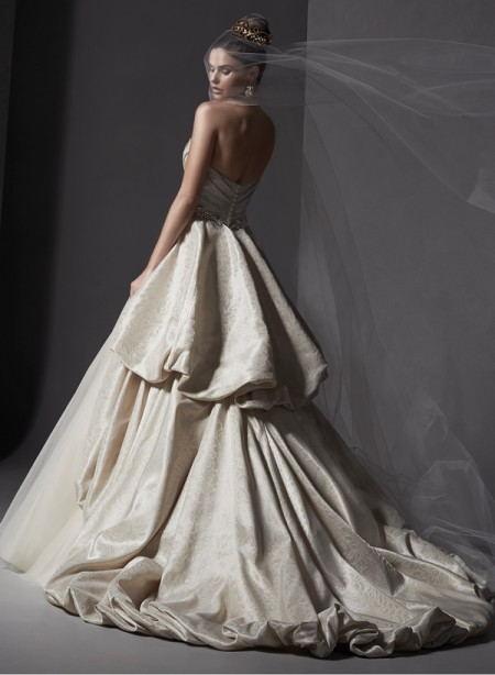 Back of Ivana Wedding Dress - Sottero and Midgley Spring 2015 Bridal Collection