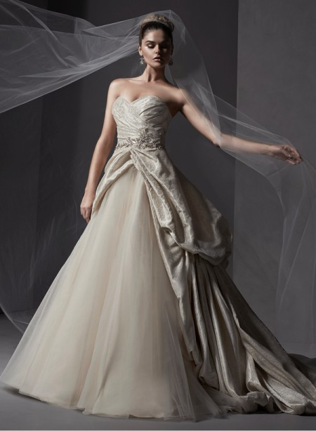 Ivana Wedding Dress - Sottero and Midgley Spring 2015 Bridal Collection