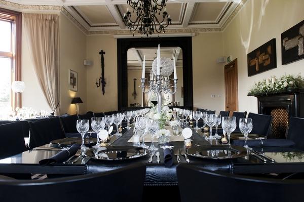 Kinnettles Castle Dining Room