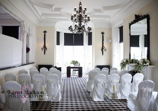 Kinnettles Castle Wedding Ceremony