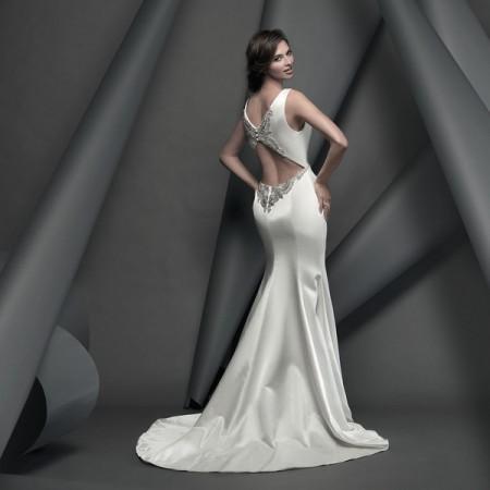 Lexington Wedding Dress - Suzanne Neville Novello 2015 Bridal Collection
