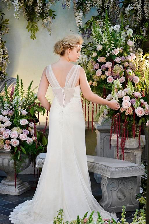Back of Lovestruck Wedding Dress - Terry Fox Siren Song 2015 Bridal Collection