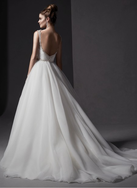 Back of Mariam Wedding Dress - Sottero and Midgley Spring 2015 Bridal Collection
