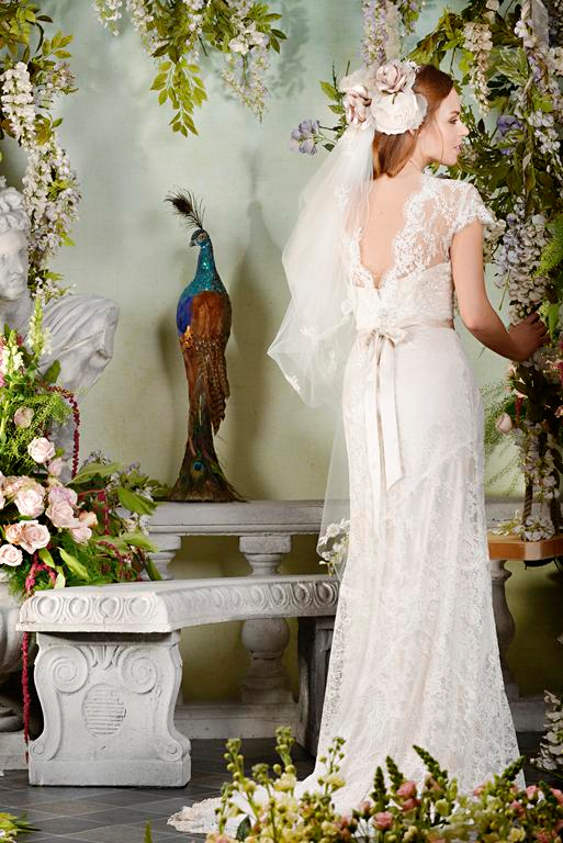 Back of Pearly Queen 2015 Wedding Dress - Terry Fox Siren Song 2015 Bridal Collection