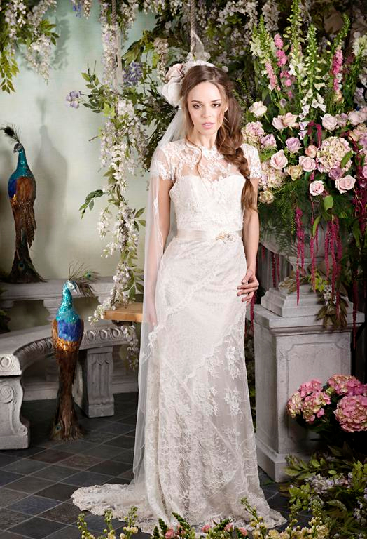 Pearly Queen 2015 Wedding Dress - Terry Fox Siren Song 2015 Bridal Collection