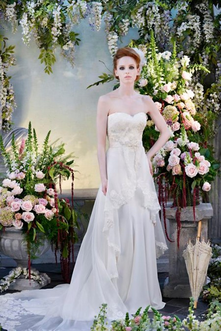 Persephone Wedding Dress - Terry Fox Siren Song 2015 Bridal Collection