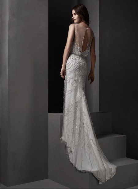 Back of Renata Wedding Dress - Sottero and Midgley Spring 2015 Bridal Collection