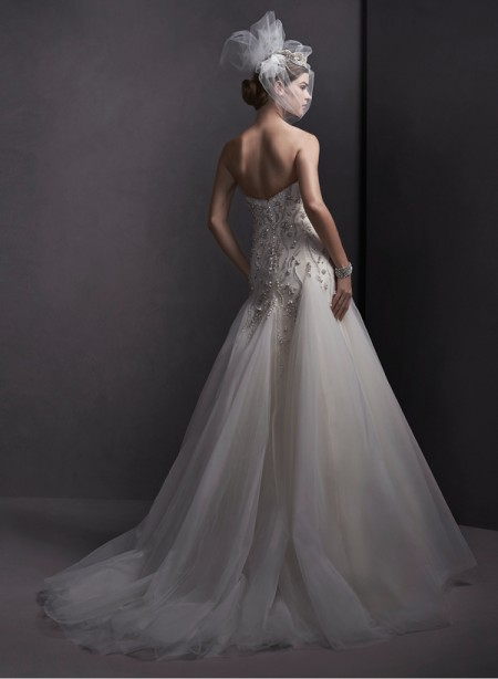Back of Rowan Wedding Dress - Sottero and Midgley Spring 2015 Bridal Collection