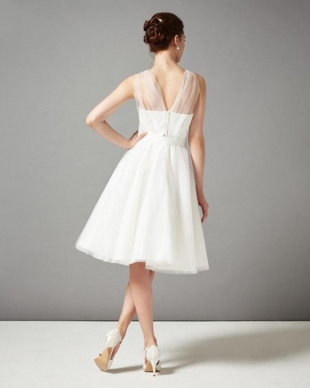 Back of Sally Wedding Dress - Phase Eight 2015 Bridal Collection