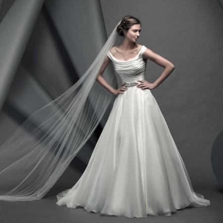 Savoy Wedding Dress - Suzanne Neville Novello 2015 Bridal Collection
