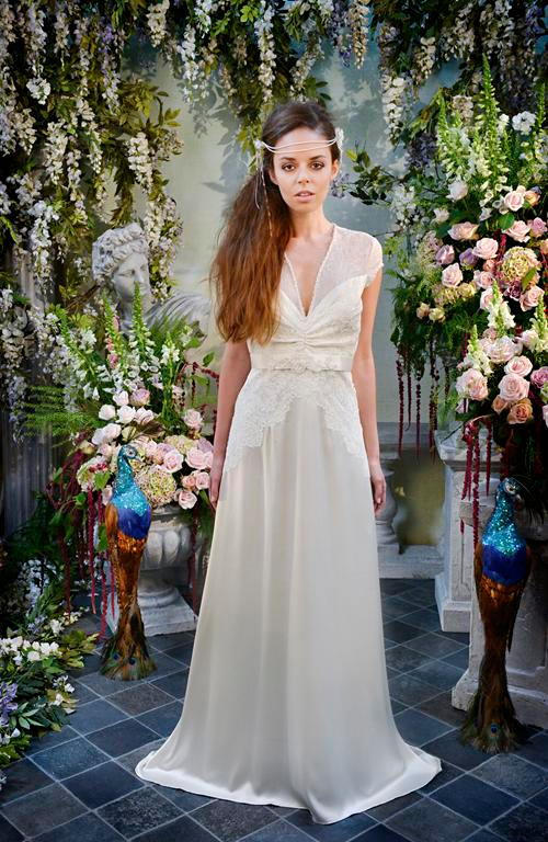 Sea Pearl Wedding Dress - Terry Fox Siren Song 2015 Bridal Collection