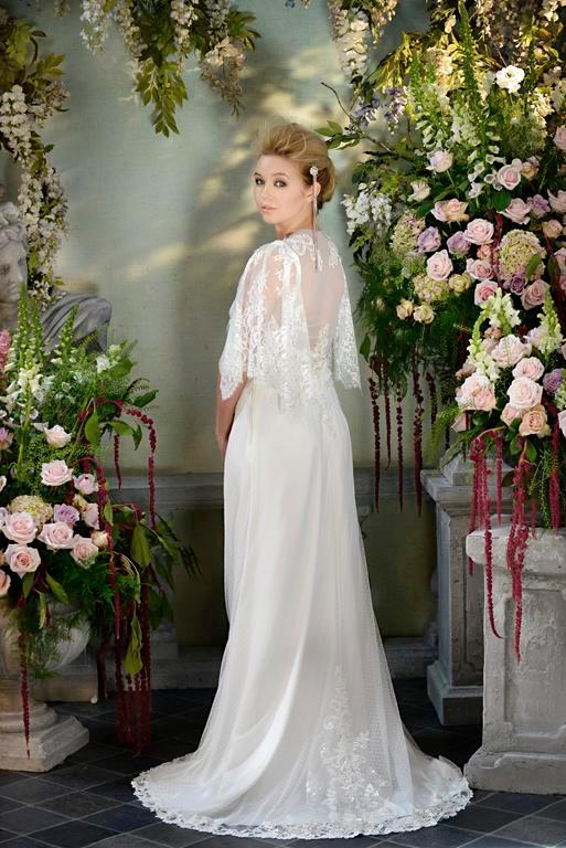 Back of Serenade Wedding Dress - Terry Fox Siren Song 2015 Bridal Collection
