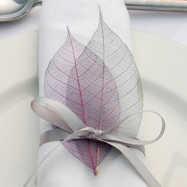 Skeleton Leaves from The Real Flower Petal Confetti Company