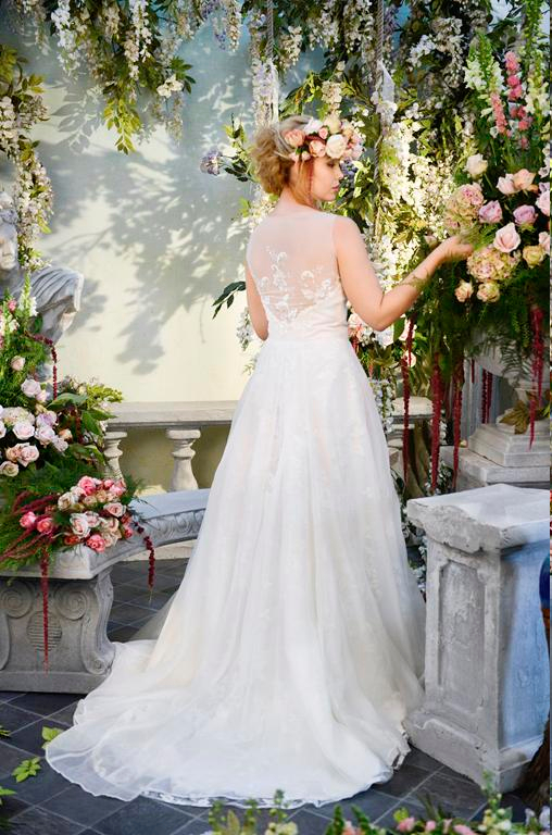 Back of Spellbound Wedding Dress - Terry Fox Siren Song 2015 Bridal Collection