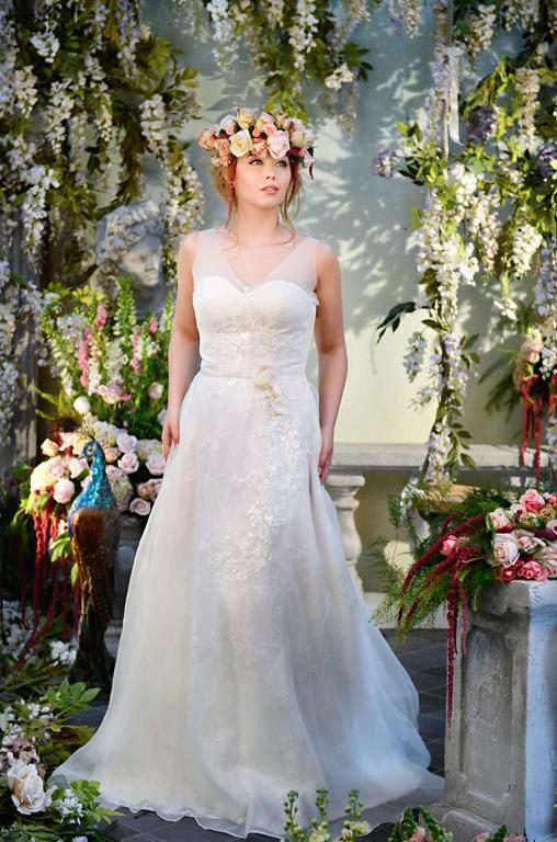 Spellbound Wedding Dress - Terry Fox Siren Song 2015 Bridal Collection