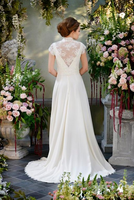 Back of Whirlwind Wedding Dress - Terry Fox Siren Song 2015 Bridal Collection