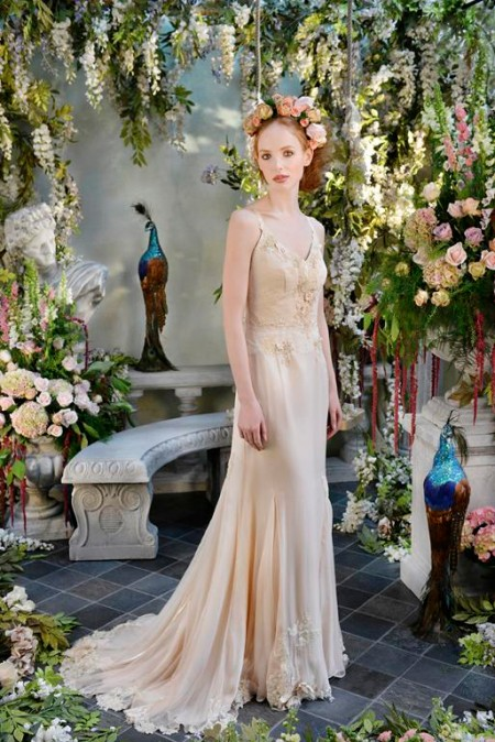 Whisper Wedding Dress - Terry Fox Siren Song 2015 Bridal Collection