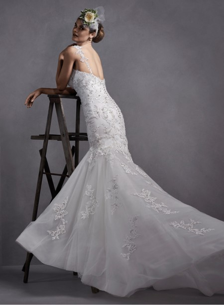 Back of Wren Wedding Dress - Sottero and Midgley Spring 2015 Bridal Collection