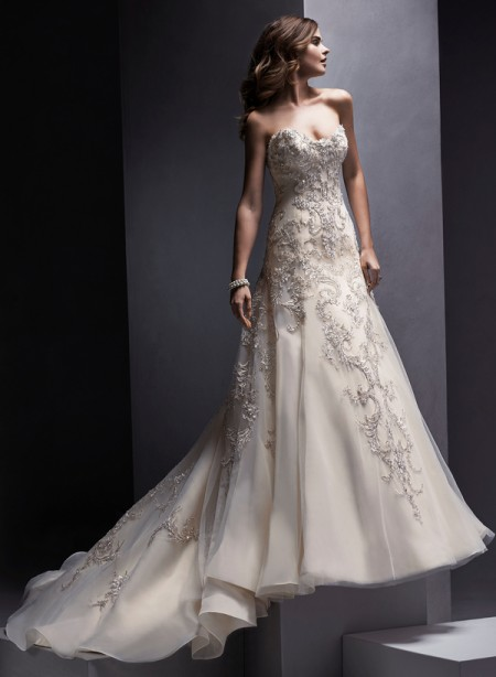 Zariah Wedding Dress - Sottero and Midgley Spring 2015 Bridal Collection