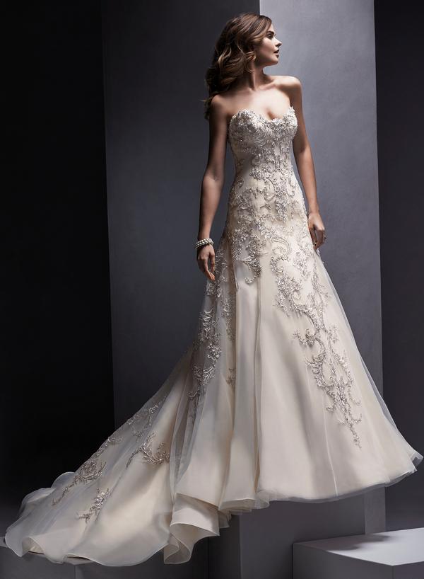 Zariah Wedding Dress - Sottero and Midgley Spring 2015 Bridal Collection