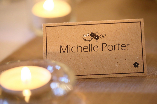 Wedding table name