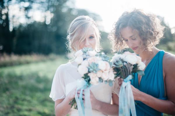 'Shades of Chic' Aqua and Peach Wedding Styling