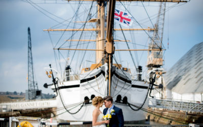 Nautical Themed Wedding Shoot at The Dockyard
