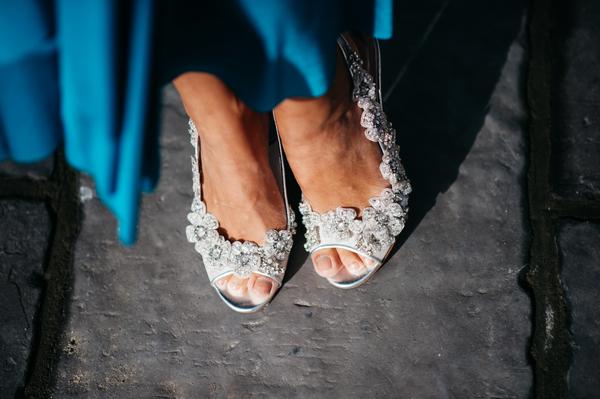 Bridesmaid's shoes