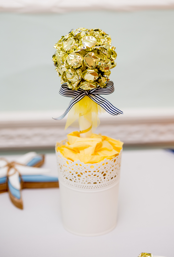 Gold wrapped sweets
