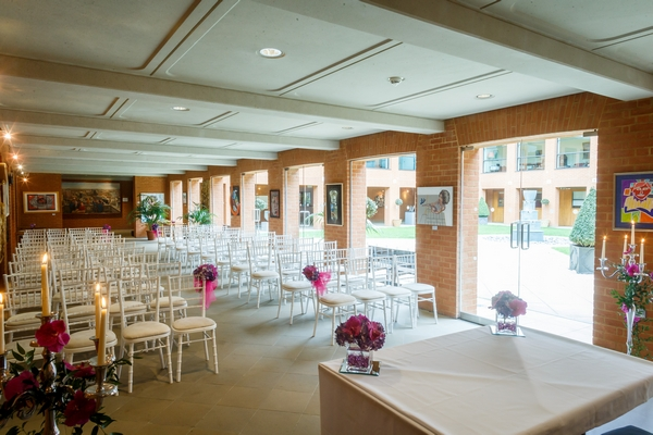 Haberdashers' Hall Orangery Ceremony