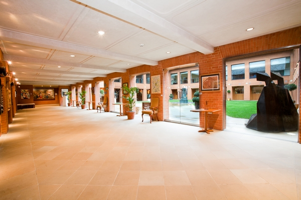 Haberdashers' Hall Orangery Open onto Courtyard