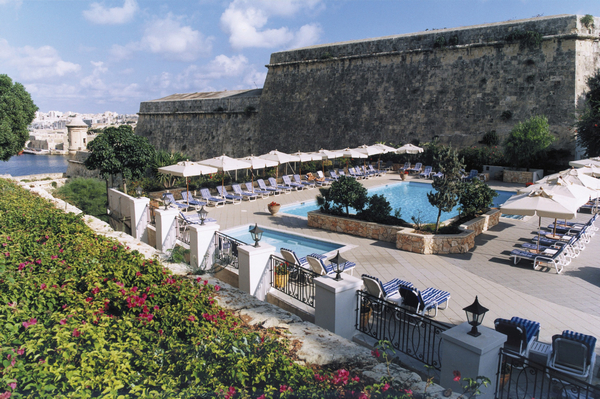 Phoenicia Hotel Bastion Pool Deck