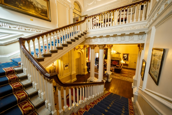 Inner Hall staircase at The In and Out