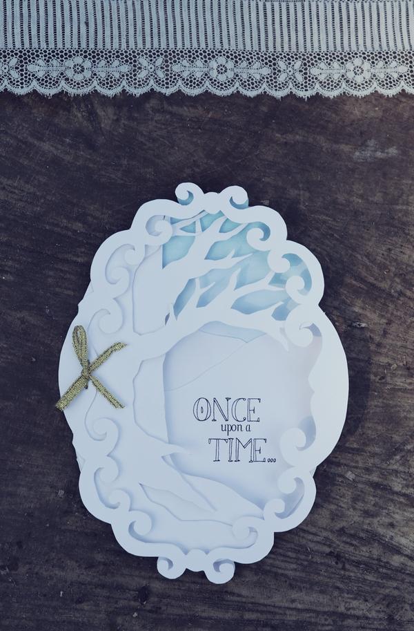 Fairytale wedding stationery