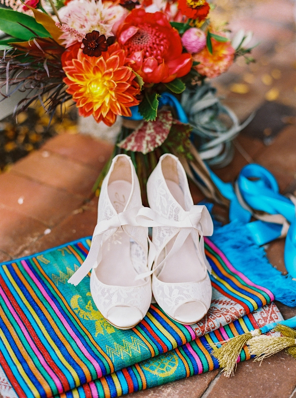 Bride's shoes