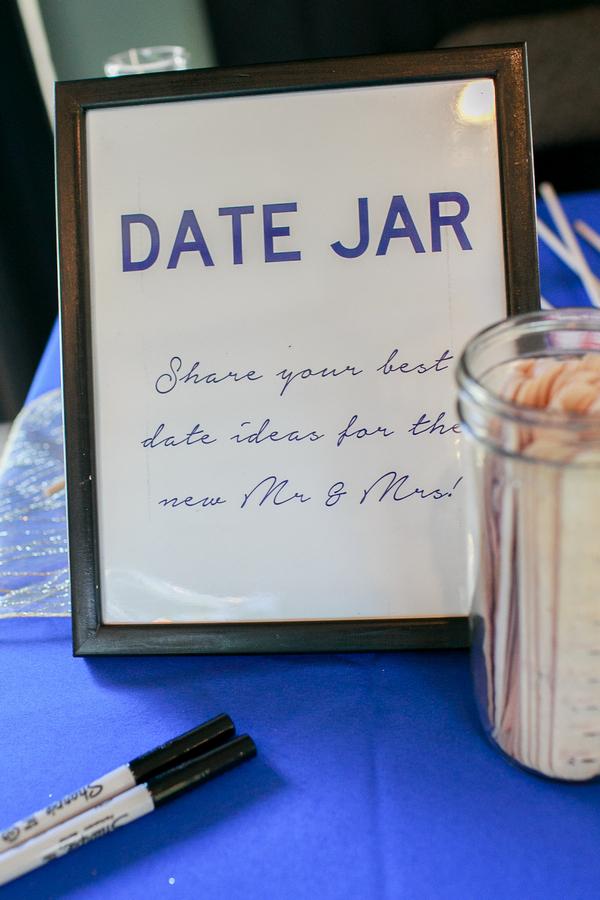 Wedding date jar