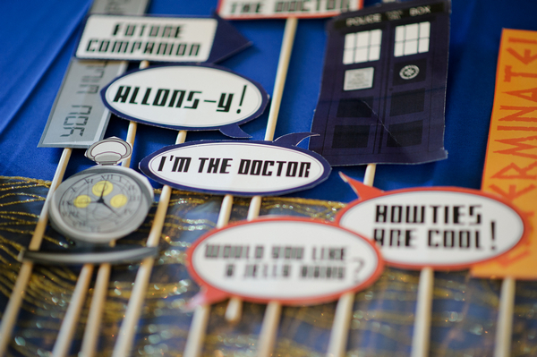 Doctor Who quotes on sticks