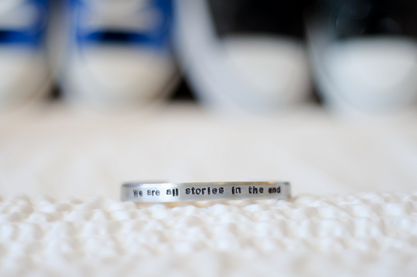 We are all stories in the end bracelet