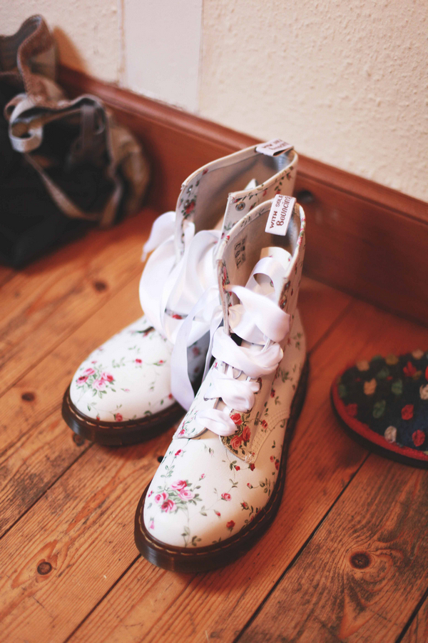 Dr Martens wedding boots