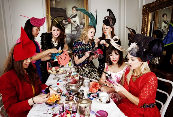Afternoon Tea Hat and Fascinator Making Hen Party d125390fb12