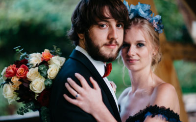 Opulent Wedding Styling with Shades of Blue
