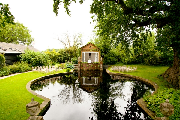 Ceremony Pond - Micklefield Hall