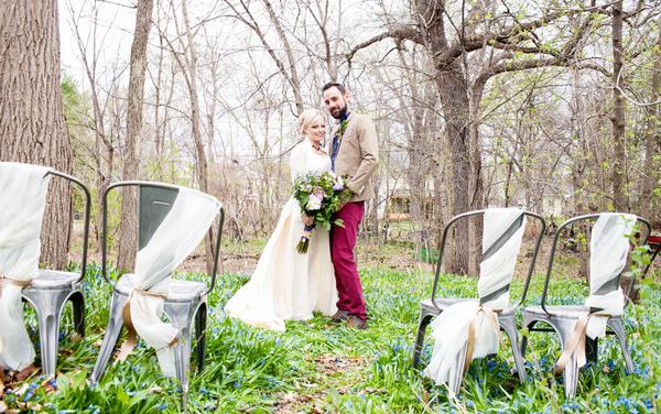 Cinderella bride and groom