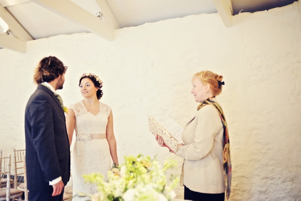Wedding Ceremony Conducted by The Guild of Cornish Celebrants
