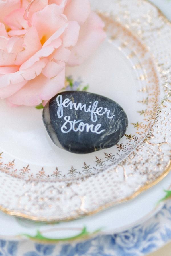 Stone wedding name place