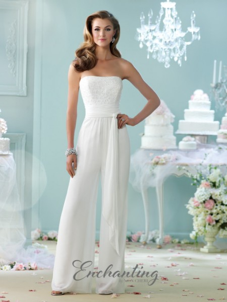 Picture of 215103 Wedding Dress - Enchanting by Mon Cheri Fall 2015 Bridal Collection