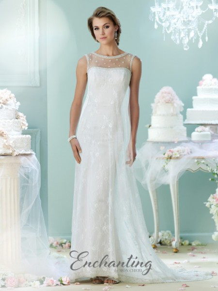 Picture of 215105 Wedding Dress - Enchanting by Mon Cheri Fall 2015 Bridal Collection