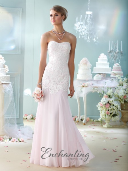Picture of 215107 Wedding Dress - Enchanting by Mon Cheri Fall 2015 Bridal Collection